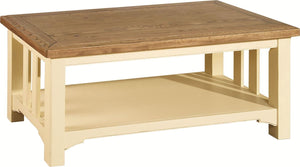 Savannah Cream Coffee Table