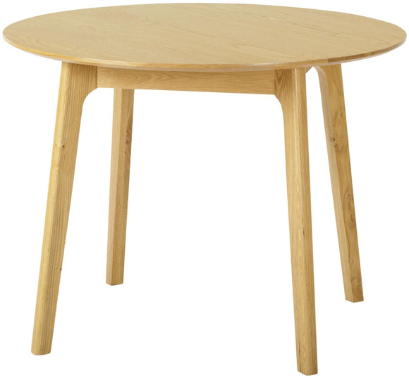 Helsinki Oak Round Dining Table