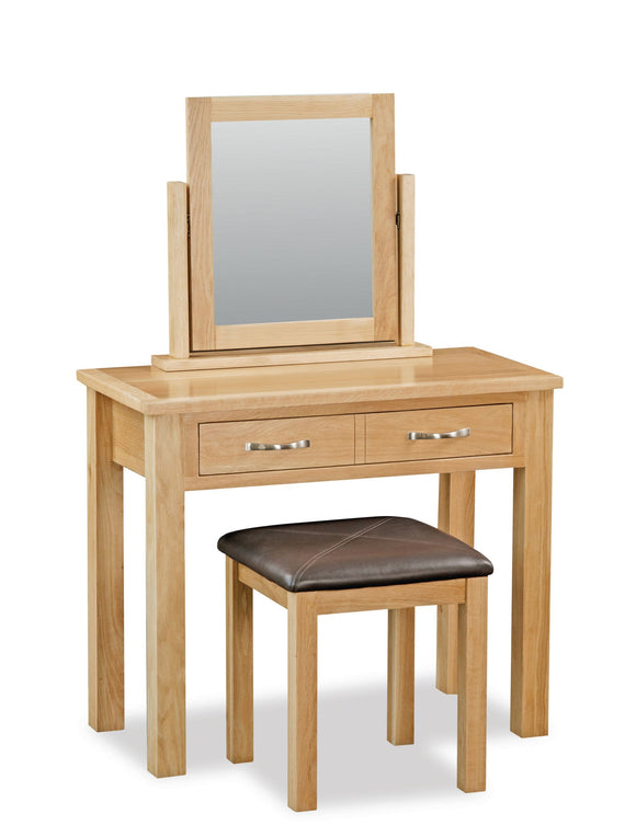 Milan Oak Dressing table set