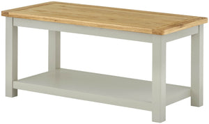 Oregon Oak Coffee Table - Stone