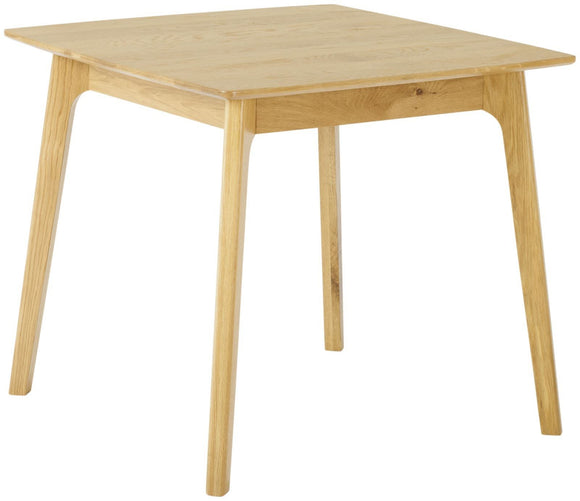 Helsinki Oak Square Dining Table