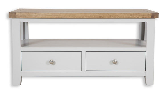 Canberra Painted    TV Unit/Coffee Table - Grey