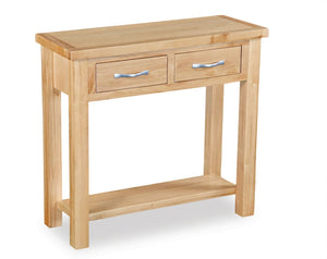 Milan Oak Console Table