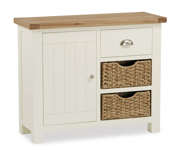 Somerset Small Sideboard With Baskets