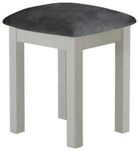 Oregon Oak Stool - Stone
