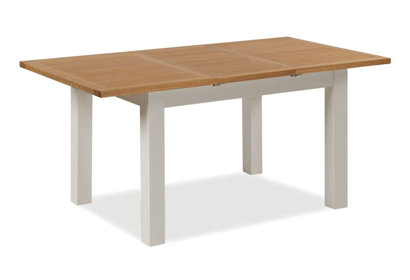 Dorset Grey Painted Compact Extending Table