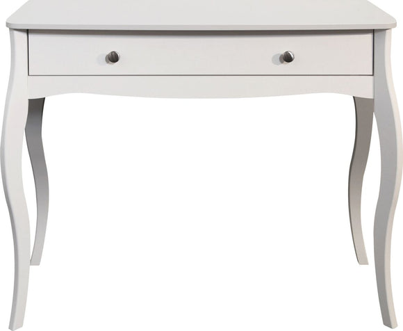Baroque Dressing Table - White