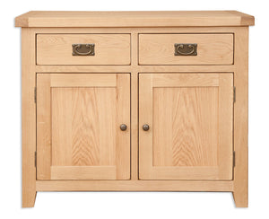 Canberra Oak Double Sideboard - Natural Finish
