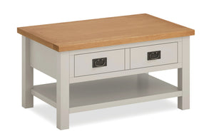 Dorset Grey Painted Coffee Table