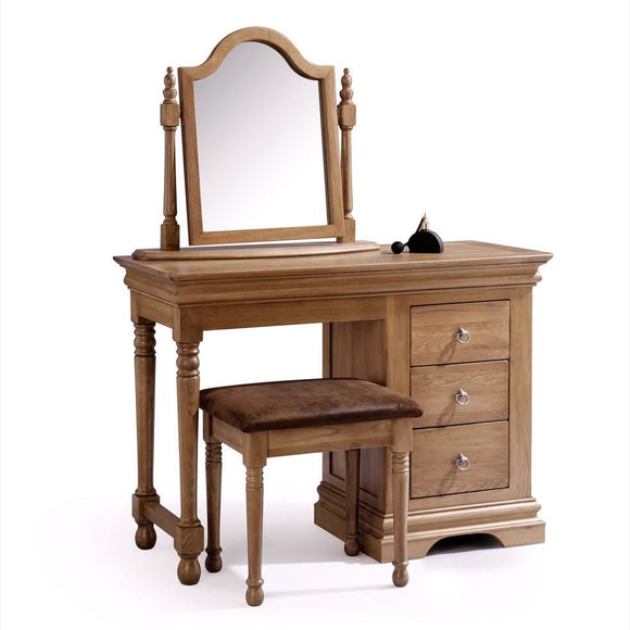 Regency Oak  Dressing Table