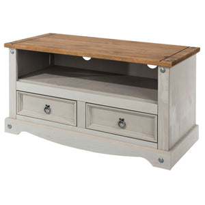 Corona Grey Washed Pine TV unit