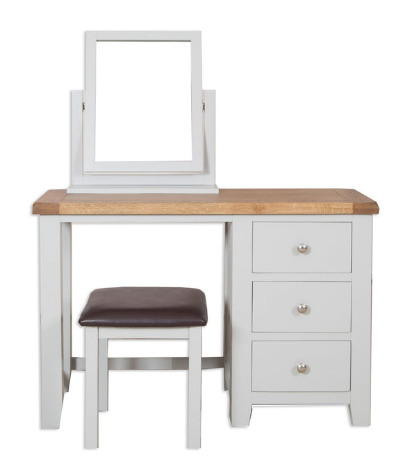Canberra Painted    Dressing Table - Grey