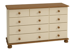 Richmond Bedroom 2+3+4 Chest of Drawers - Cream