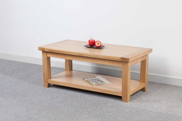 Devonshire Oak 120x60cm Large Coffee Table