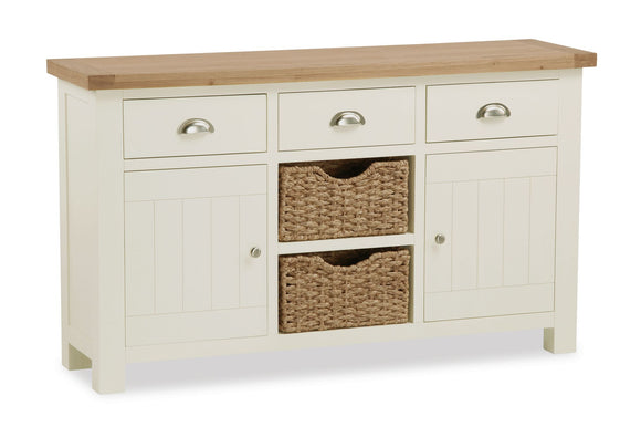 Somerset Large Sideboard With Baskets