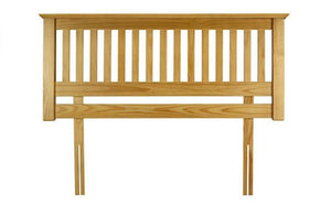 Madrid Bedroom Headboard - Pine