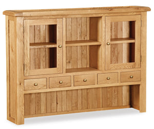 Manor Oak Large Hutch