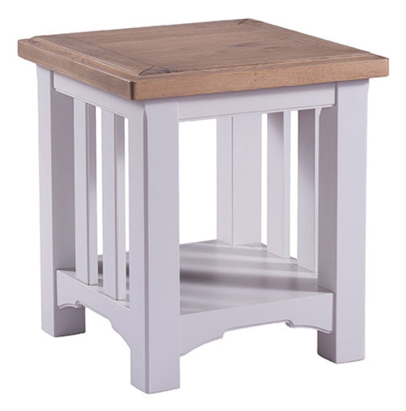 Oxford Grey Painted Lamp Table