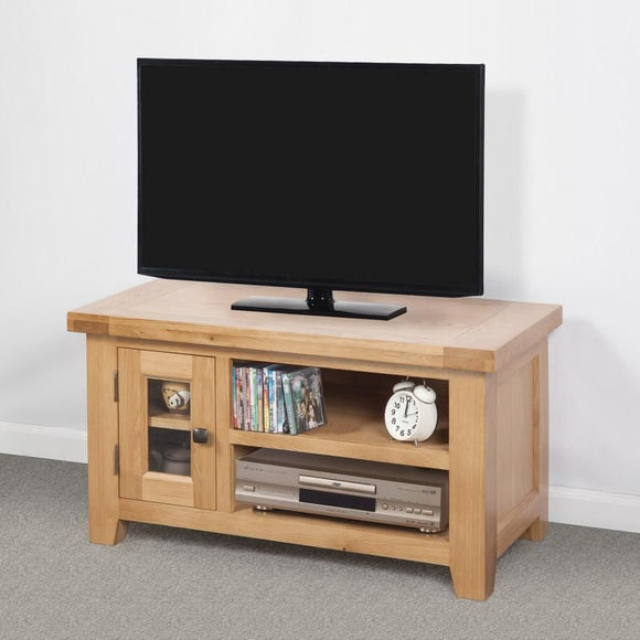 Devonshire Oak Small TV Unit