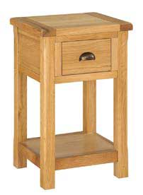 Brookdale Bedside Cabinet - Natural Oak