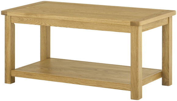 Oregon Oak Coffee Table-oak