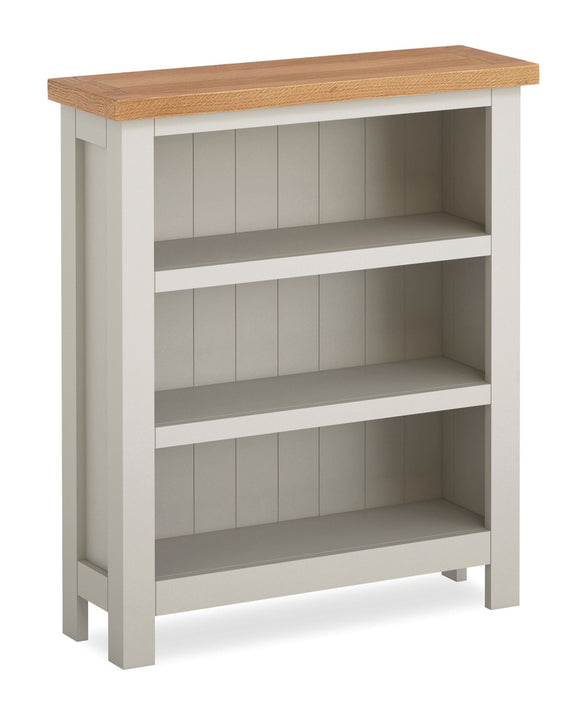 Dorset Grey Painted Low Bookcase