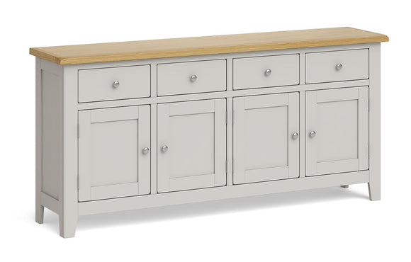 Guilford Oak 4 Door Sideboard