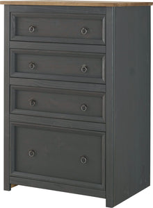 Corona Carbon 4 Drawer Chest
