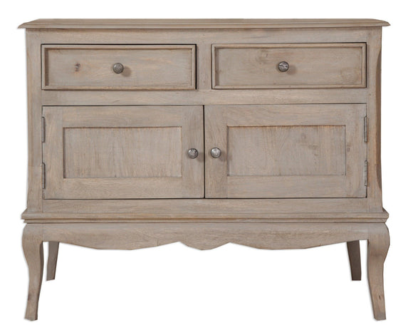 Bordeaux Grey Shabby Chic  Double Sideboard