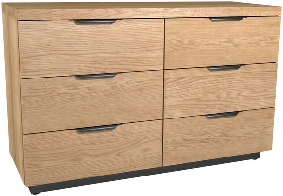 Fusion 6 Drawer Wide Chest