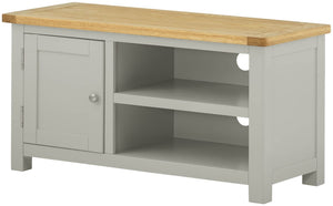 Oregon Oak TV Cabinet - Stone