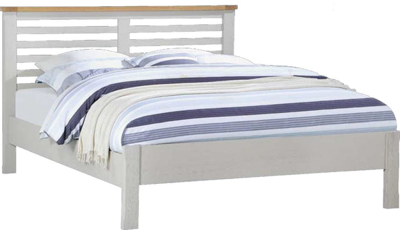 Brookdale KingSize Bed Frame - Stone Grey