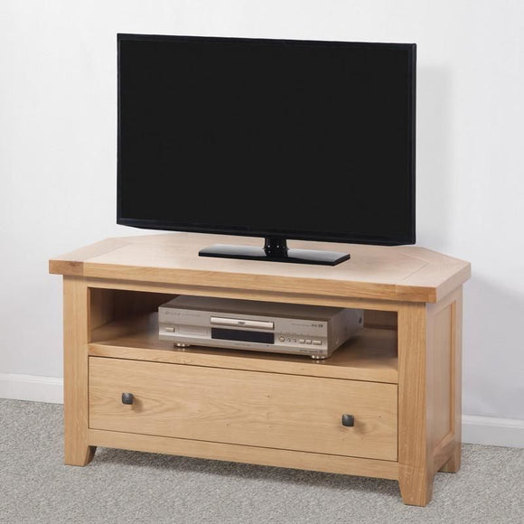 Devonshire Oak Corner TV Unit