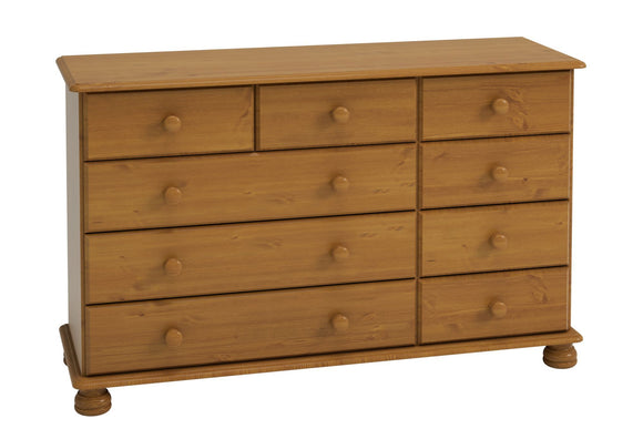 Richmond Bedroom 2+3+4 Chest of Drawers - Pine