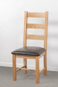 Devonshire Oak Ladderback Dining Chair