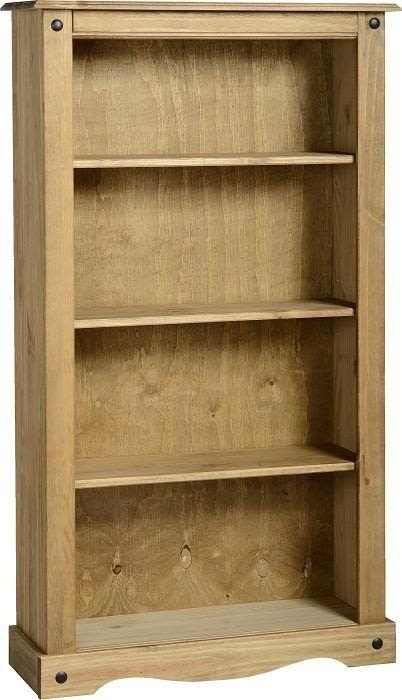 Corona Mexican Pine   Medium Bookcase