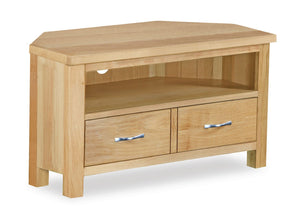 Milan Oak Corner TV Unit