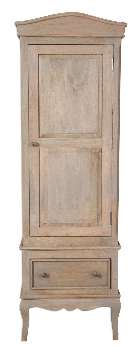 Bordeaux Grey Shabby Chic  Single Wardrobe