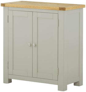 Oregon Oak 2 Door Cabinet - Stone