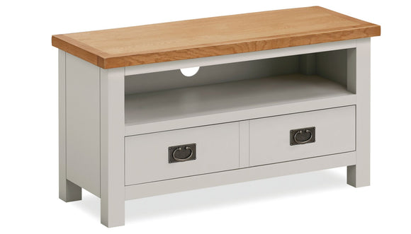 Dorset Grey Painted Small TV Unit