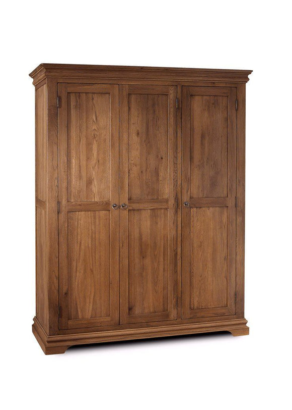 Regency Oak  Triple Wardrobe
