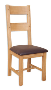 Canberra Oak Dining Chair - Natural Finish