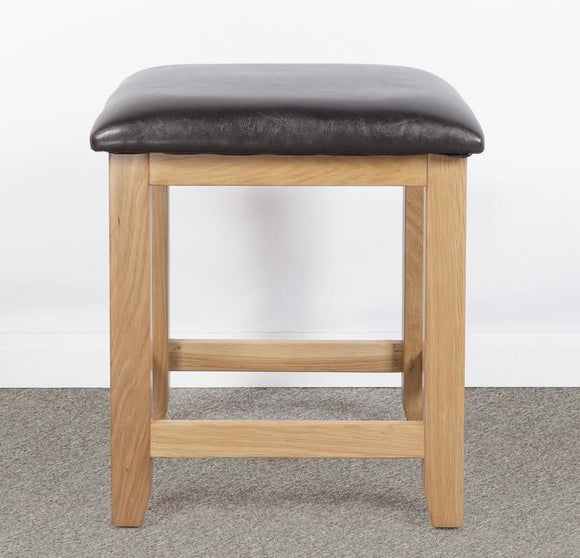 Devonshire Oak  Dressing Table Stool