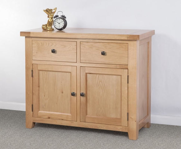 Devonshire Oak Double Sideboard