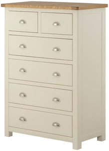 Oregon Oak 2 over 4 Chest - Cream