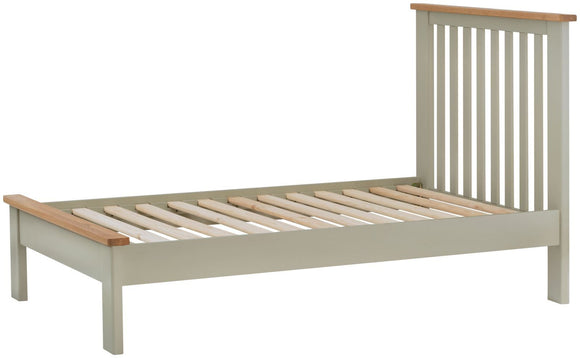 Oregon Oak 3'0 Bed - Stone