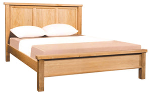Devonshire Oak 5' Kingsize Panelled Bed Frame