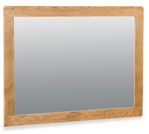 Manor Oak Mirror