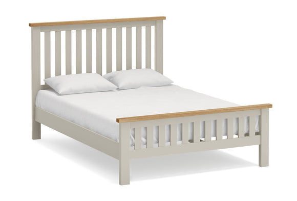 Dorset Grey Painted Bed Frame - 4'6