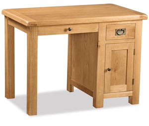 Manor Oak Single Desk